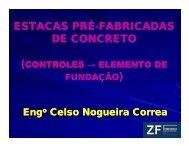 Estacas Pré-fabricadas de Concreto - Controles: elemento ... - ABCIC