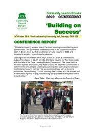 Conference Report 2010.pdf - Community Council of Devon