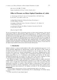 Effect of Pressure on Direct Optical Transitions of g-InSe