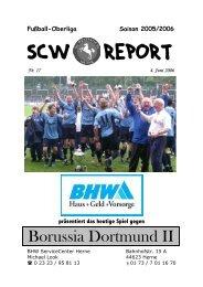 Borussia Dortmund II - SC Westfalia 04 Herne eV
