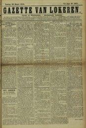 Zondag 22 Maart 1914. 71- Jaar N