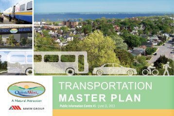 what is the transportation master plan? - City of Quinte West