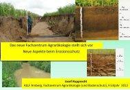 Aspekte beim Erosionsschutz - Amt für Ernährung, Landwirtschaft ...