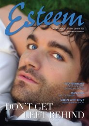 november/december 2009 - Esteem Day Spa