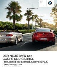 DER NEUE BMW er. COUPÉ UND CABRIO. - BMW Niederlassung ...