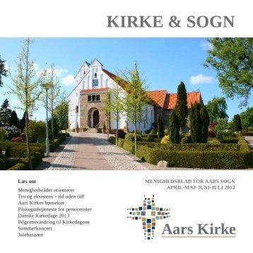 April/maj/juni/juli - Aars Kirke