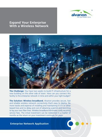Expand Your Enterprise With a Wireless Network - Moonblink ...