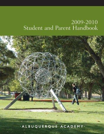 Handbook 03-04 - Albuquerque Academy