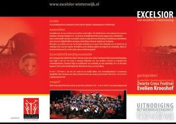 Excelsior uitnodiging netwerkmiddag 2013 - 100 procent Winterswijk