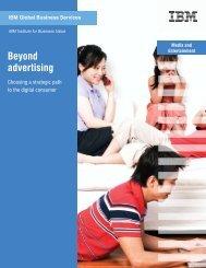 Media And Beyond advertising - IBM