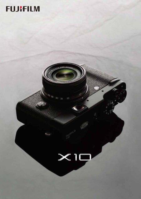 Documentation Fujifilm Premium X10.pdf