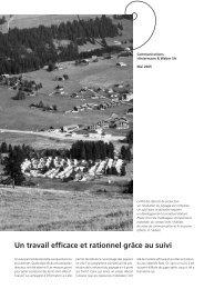 Un travail efficace et rationnel grâce au suivi - Hintermann & Weber ...