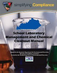 School Laboratory Management and Chemical Cleanout Manual