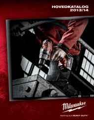 Hovedkatalog 2013/14 - Milwaukee Tools