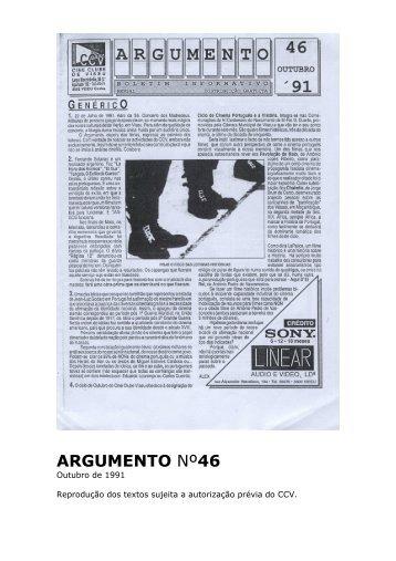 Argumento nº46 - Cine Clube de Viseu