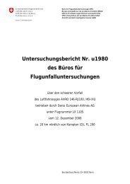 Untersuchungsbericht Nr. u1980 des Büros für ...