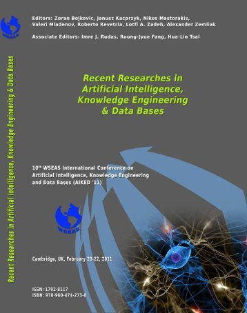 Recent Researches in Artificial Intelligence, Knowledge ... - Wseas.us