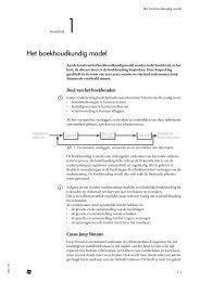 Het boekhoudkundig model