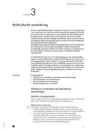 Definities en voorbeelden van multiculturele samenlevingen