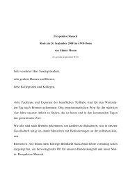 Rede von Günter Mosen am 24.09.2008