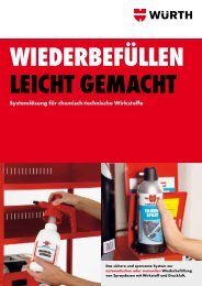 REFILLO-Broschüre - Würth