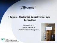 Obesitas - farmakologisk och kirurgisk behandling (pdf) - Vgregion.se