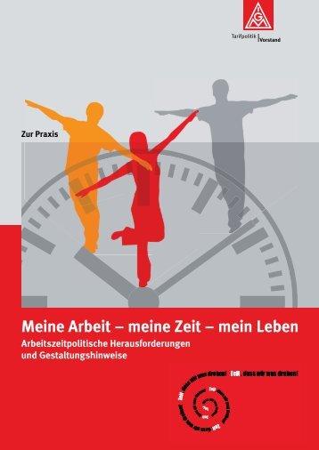Meine Arbeit – meine Zeit – mein Leben - Gleichstellen-igmetall.de