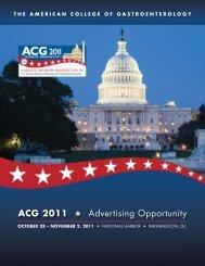 Room Drop Rate Card - ACG - American College of Gastroenterology