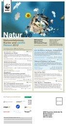 Naturlive - Programm 1. Halbjahr 12/13