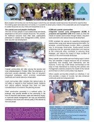 integrated coastal zone management: benefitting people? - CANARI
