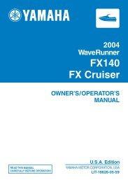 FX140/FX Cruiser - Yamaha