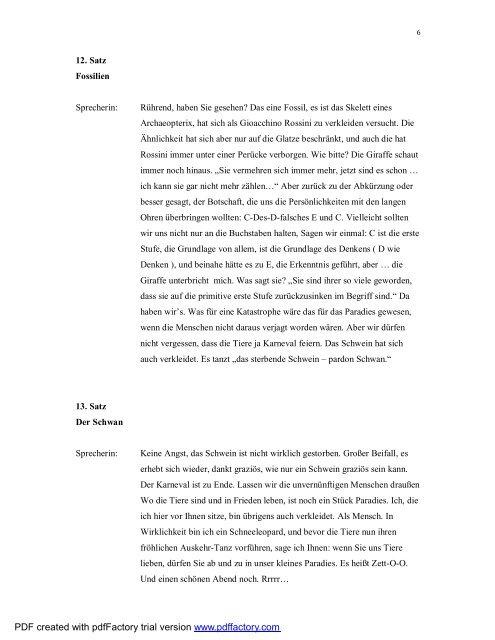 Herbert Rosendorfers Texte