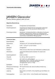 JANSEN Glanzcolor - Colourandclean.de