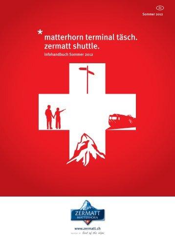 Sommer 2012 - Matterhorn Gotthard Bahn