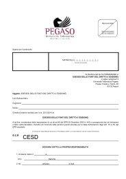 domanda iscrizione - Cesd-onlus.com