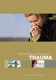 Understanding And Coping with Trauma - Center for Renewing ...