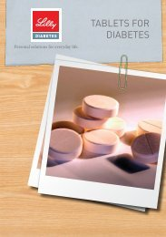 TABLeTs fOR DiABeTes