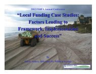 """Local Funding Case Studies: Factors Leading to Framework ... - fsbpa"
