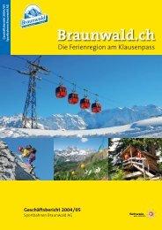 Braunwald: Texte für - Text ARTelier & Medienbüro