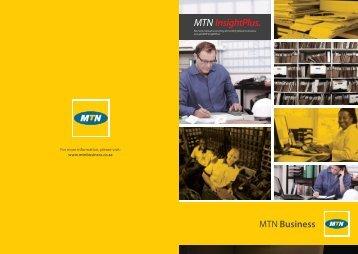 MTN InsightPlus. - MTN Business