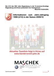 U12-Kreisliga - Foerderverein-jahn.de