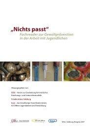 Download Reader Gewaltprävention - Friedensbüro Salzburg