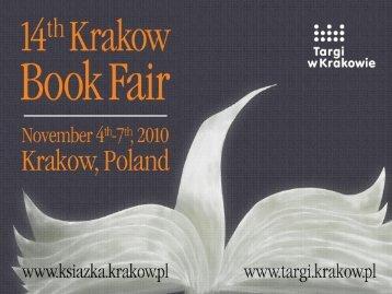 The Book Fair in Krakow - Targi w Krakowie