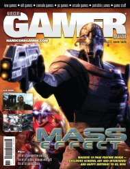 Volume 2 Issue 12 June 2007 Mass Effect - Hardcore Gamer