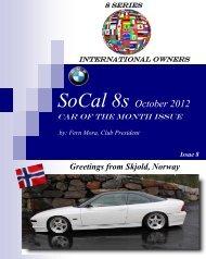 SoCal 8s October 2012 - BMW Car Club Norway