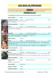 (Index f\351minin JO - A \340 H 01 05 2012.xls) - Site de la ...