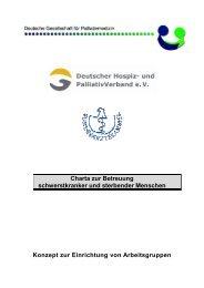 Charta 090128 Konzept Arbeitsgruppen Voltz - Charta zur ...
