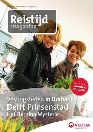 Reistijd 3 - Maart 2011 - Veolia Transport Nederland