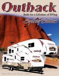 Fifth Wheels & Travel Trailers