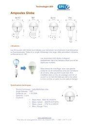 Ampoules Globes - contact@epi-groupe.com